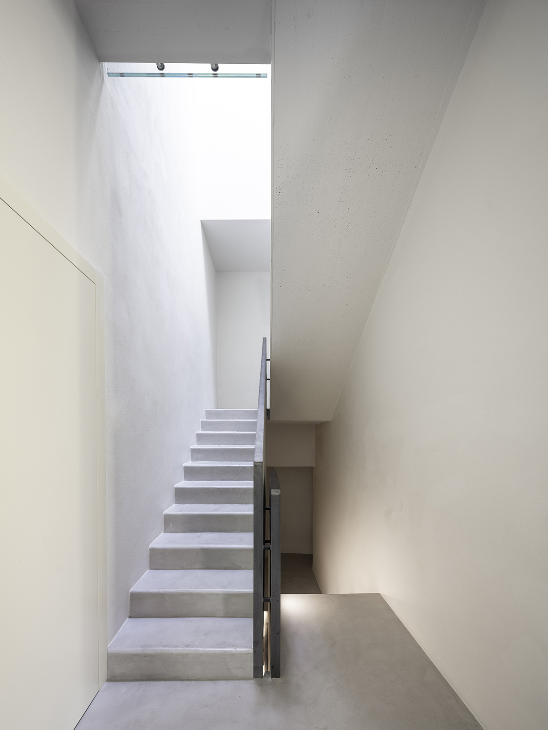 Concrete Stairs - Structural Box Filippo Poli Photography
