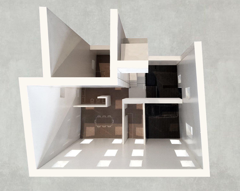 Study Model - Maquette NAT OFFICE - christian gasparini architect}