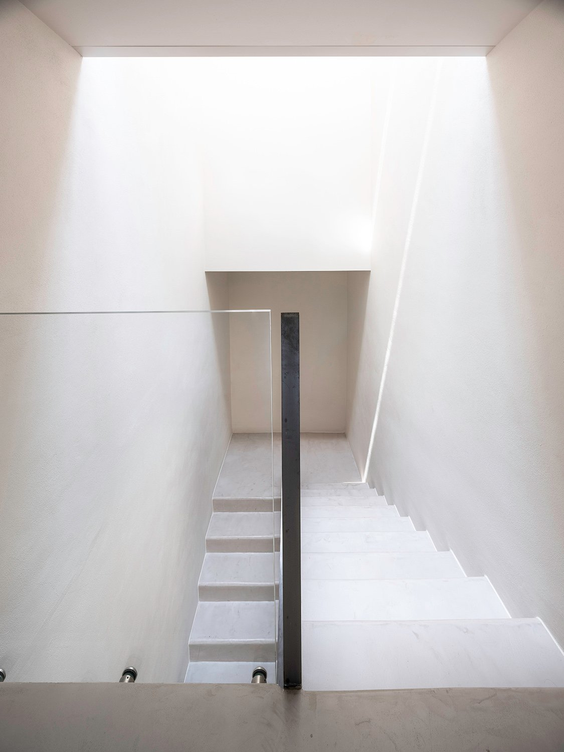 Second Floor - Concrete Stairs Filippo Poli Photography