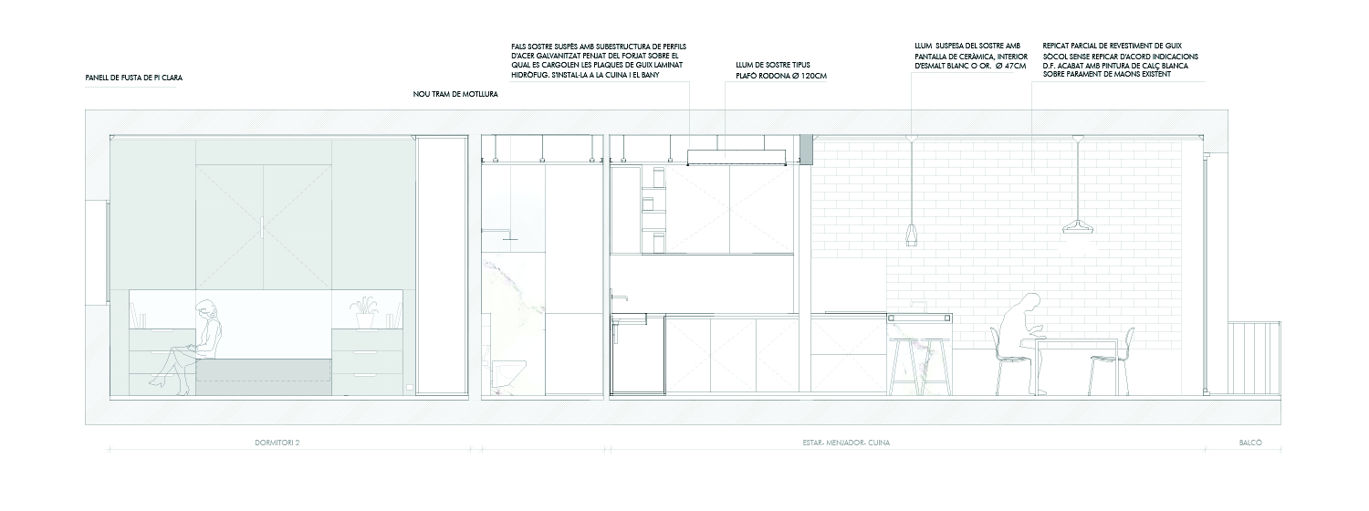 Section 01 Jofre Roca arquitectes}