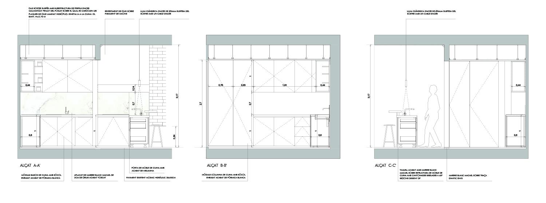 Kitchen Details Jofre Roca arquitectes}