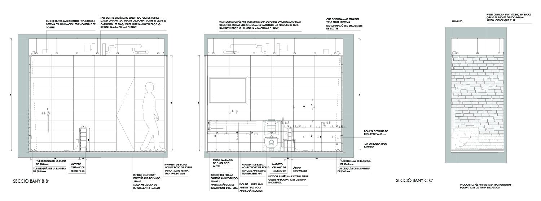 Bathroom Details Jofre Roca arquitectes}