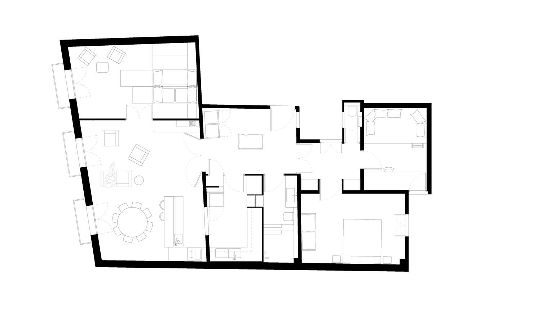 Floor Plan Jofre Roca arquitectes}