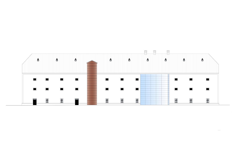 North facade Rechner Architects}