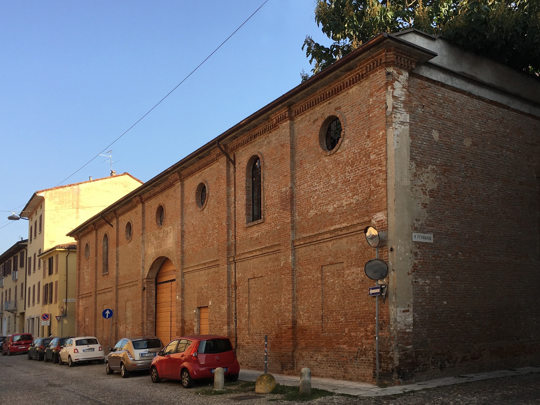Vista della struttura da via Bissolati dopo l'intervento di restauro Domenico Farinaro