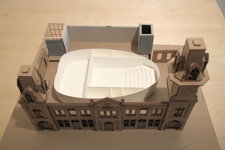 Building Model Leers Weinzapfel Associates}