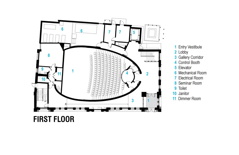 First Floor Plan Leers Weinzapfel Associates}