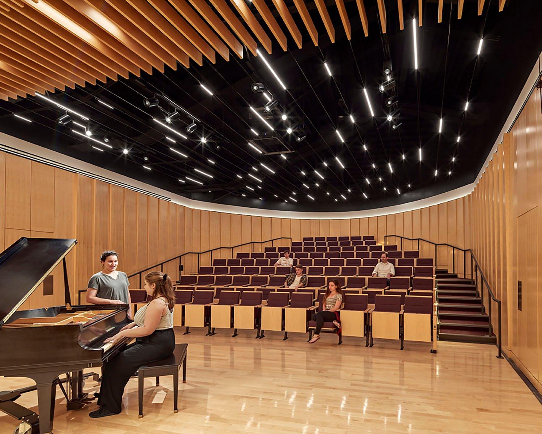 Rehearsal Hall Robert Benson