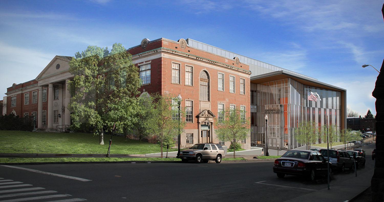 Rendering of Building Leers Weinzapfel Associates}