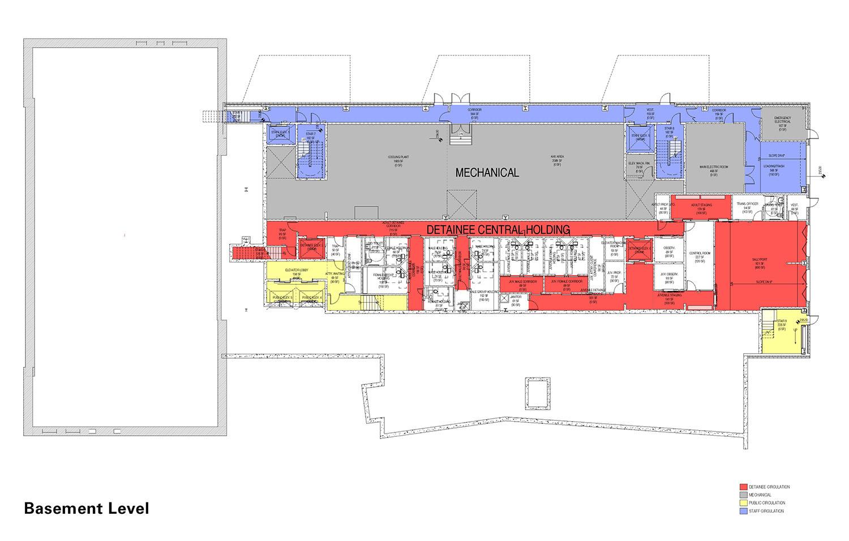 Basement Level Floor Plan Diagram Leers Weinzapfel Associates}