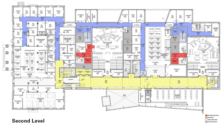 Second Level Floor Plan Diagram Leers Weinzapfel Associates}