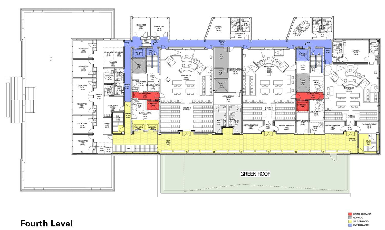Fourth Level Floor Plan Diagram Leers Weinzapfel Associates}