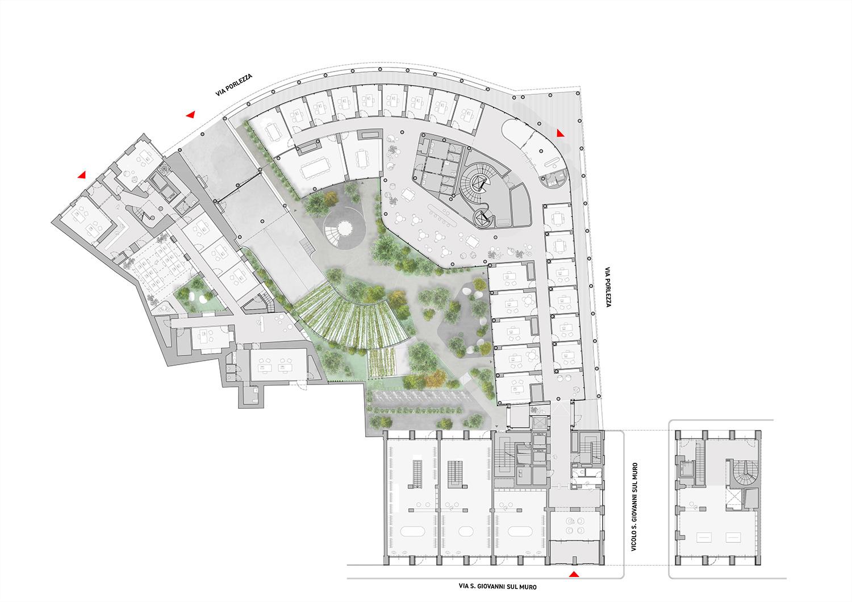 Ground Floor Plan One Works}