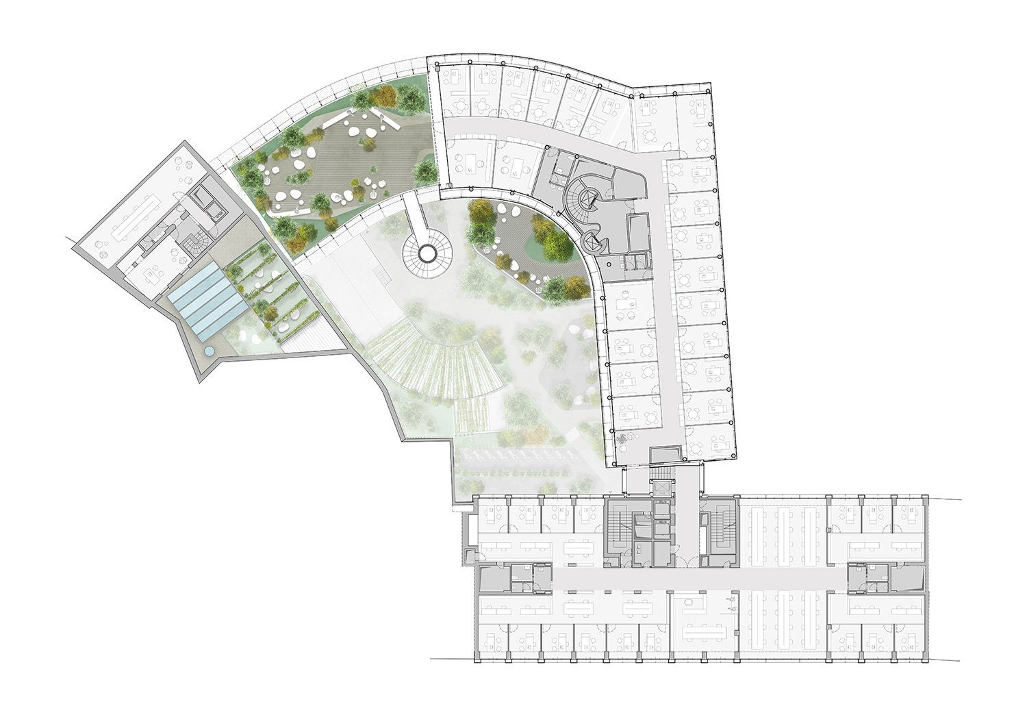 Typical Floor Plan One Works}