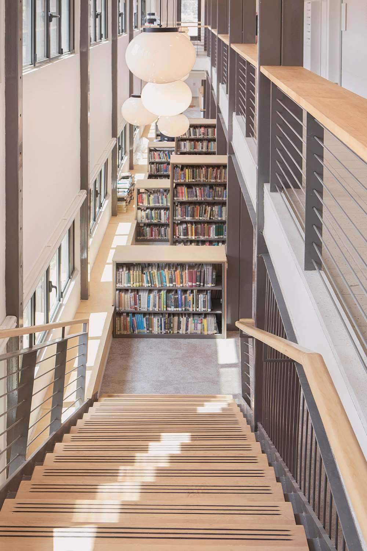 New library shaft Omri Talmor