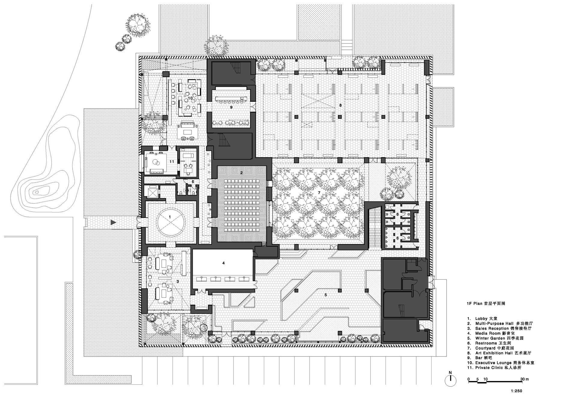 Junshan Cultural Center Drawings Neri&Hu Design and Research Office}
