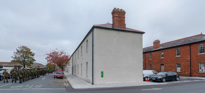 Storage Building exterior - barracks Ros Kavanagh