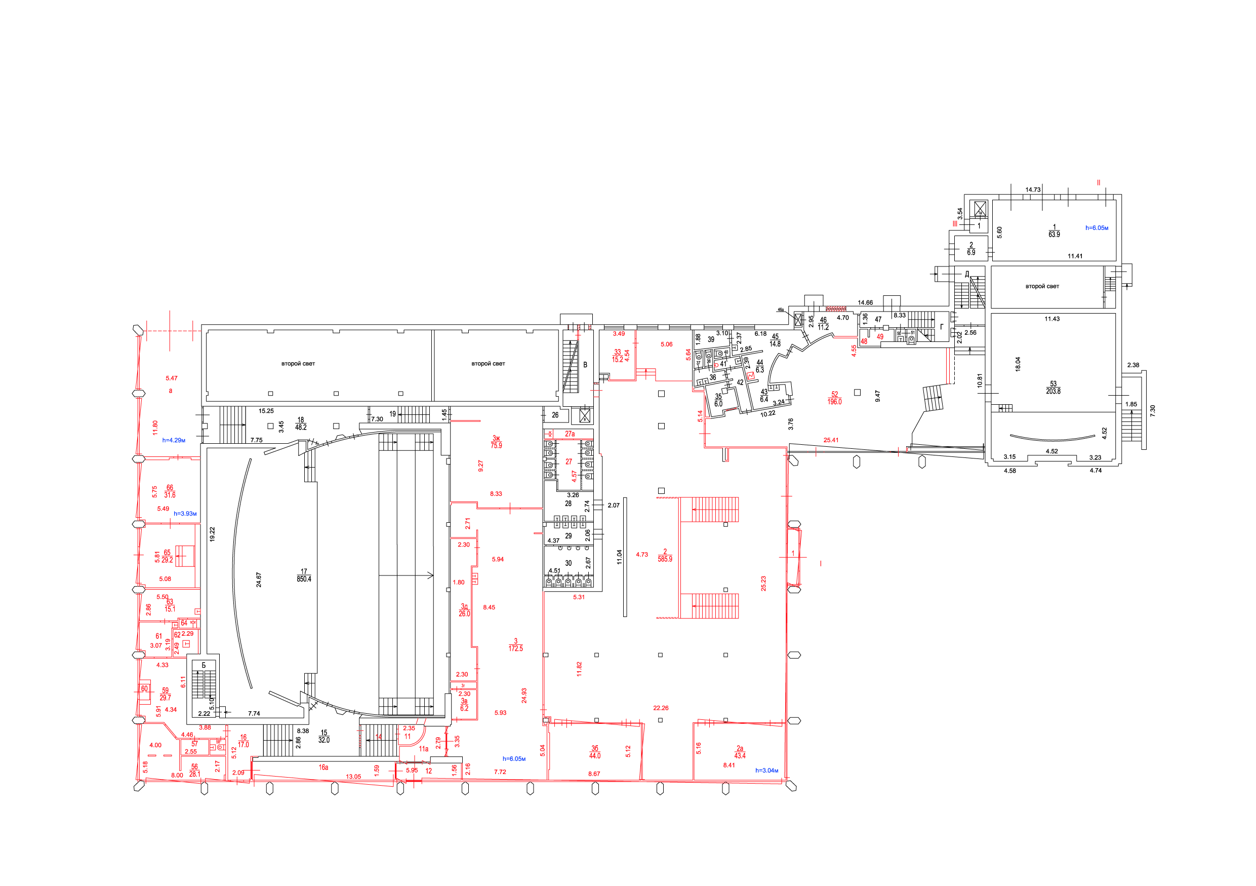 DBH floor plan DBH, Moscow Agency of Innovations}