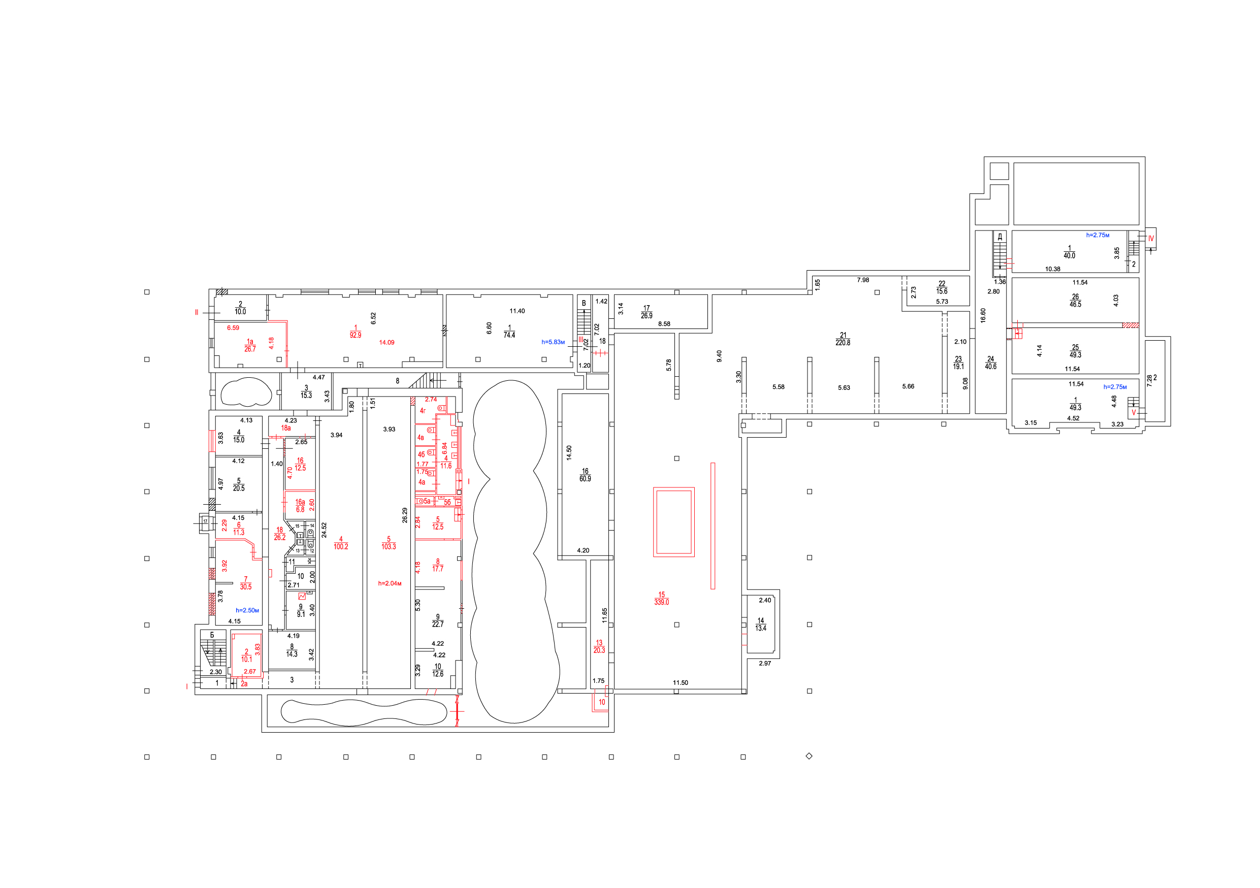 DBH basement plan DBH, Moscow Agency of Innovations}