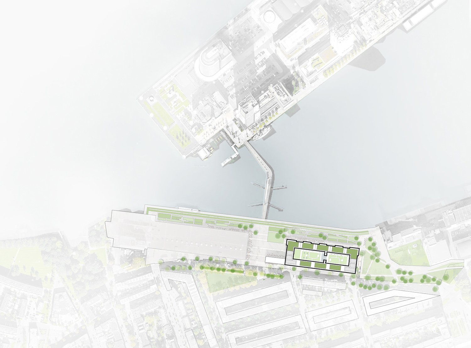 Siteplan Fenix I Mei architects and planners}