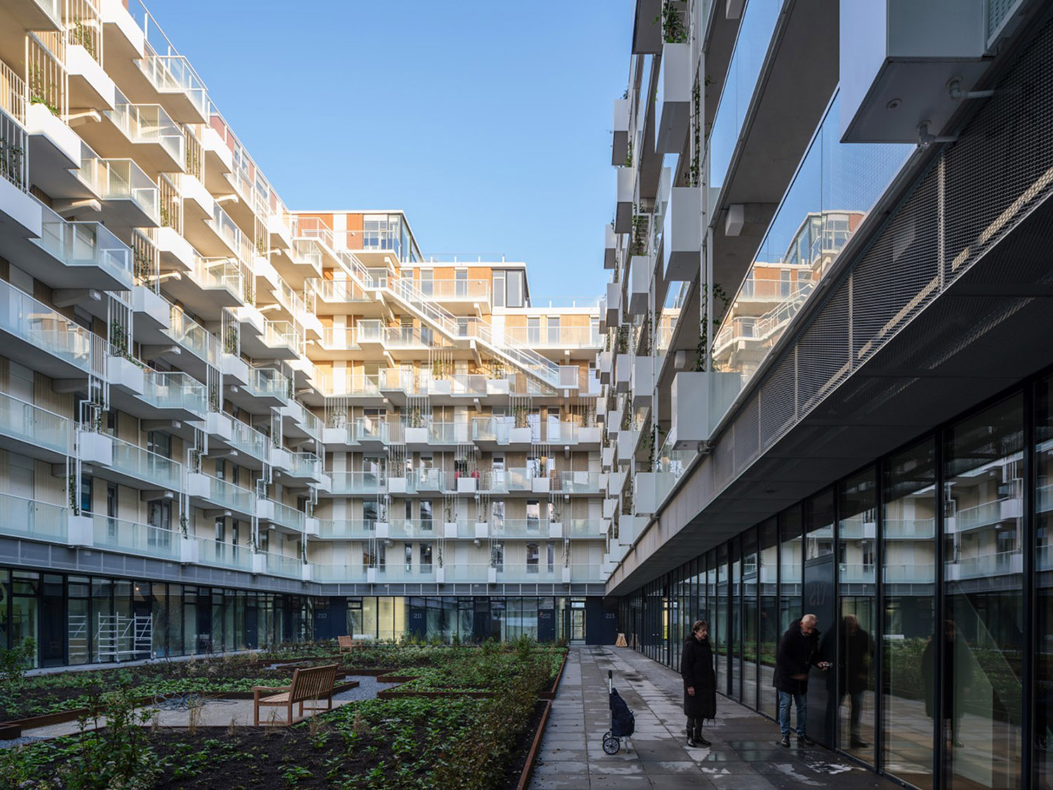 Mei architects and planners - Fenix I - Courtyard Ossip