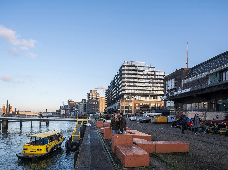 Mei architects and planners - Fenix I - Rijnhaven side Ossip