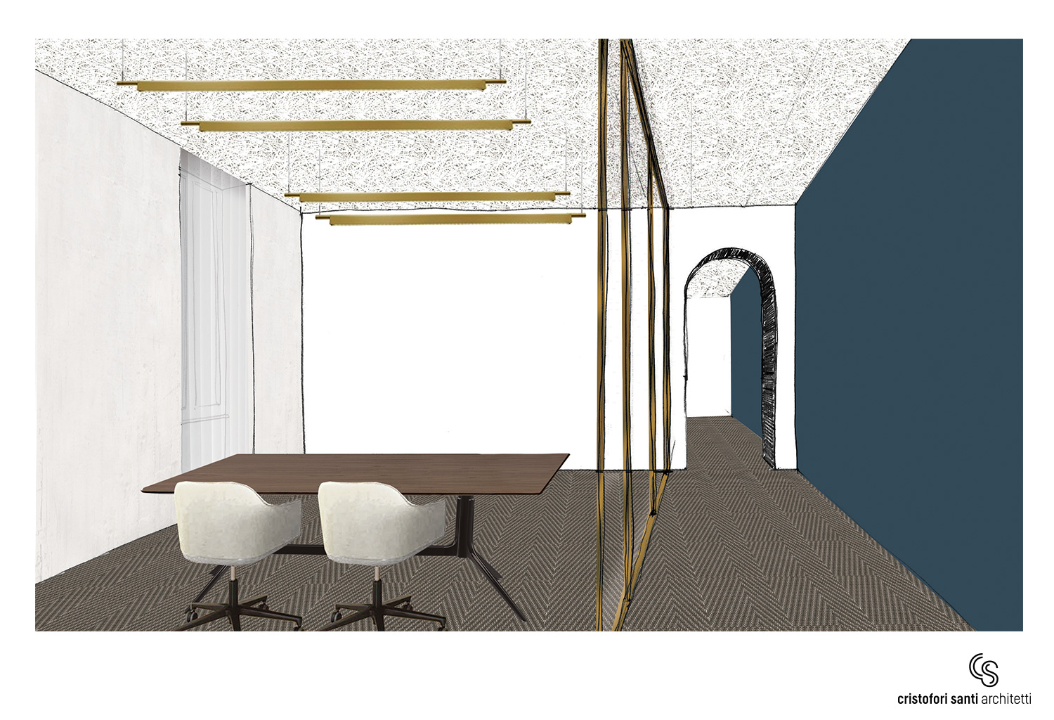 SKETCH OFFICE EPIC MOOD CRISTOFORI SANTI ARCHITETTI ASSOCIATI}