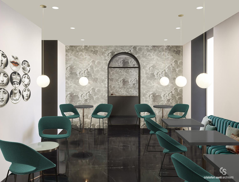 Lounge Kitchen 900 CRISTOFORI SANTI ARCHITETTI ASSOCIATI - Alessandro Cossovich