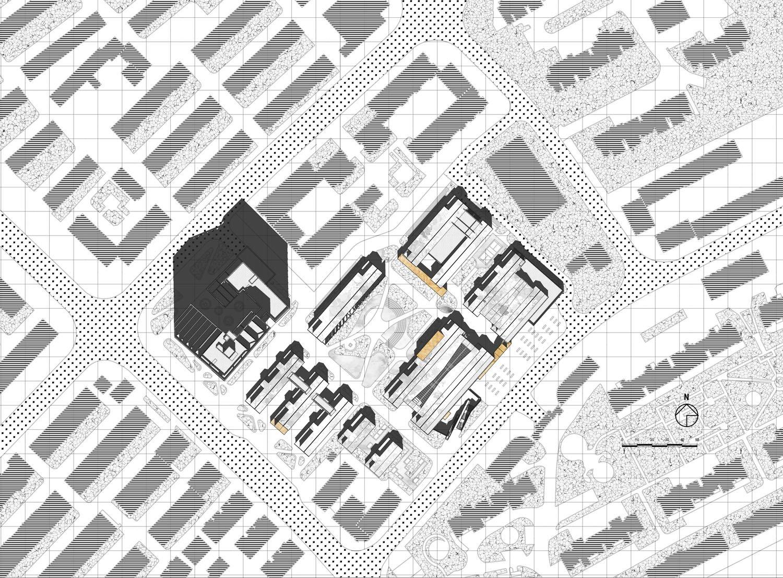 site plan Lacime Architects}