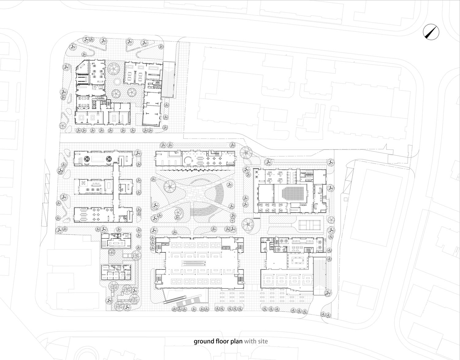 ground floor plan Lacime Architects}