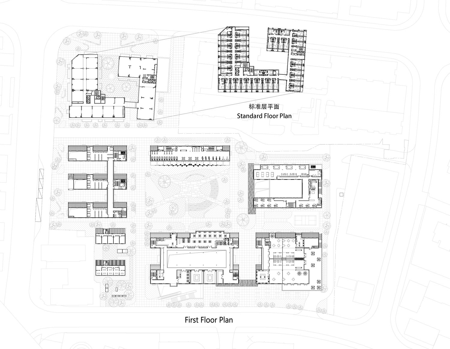 first floor plan Lacime Architects}