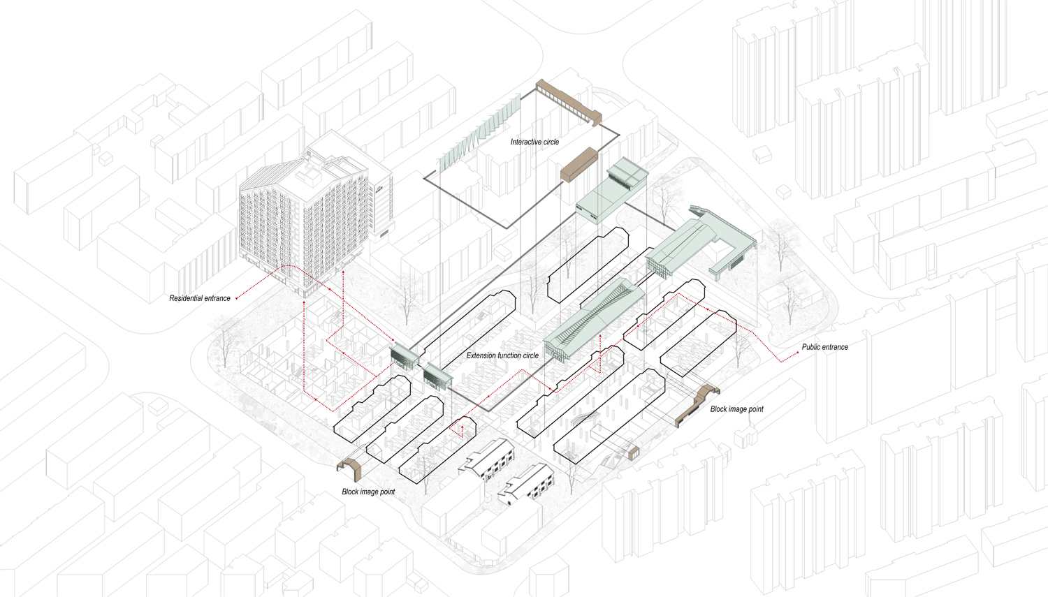 flowline and space composition Lacime Architects}