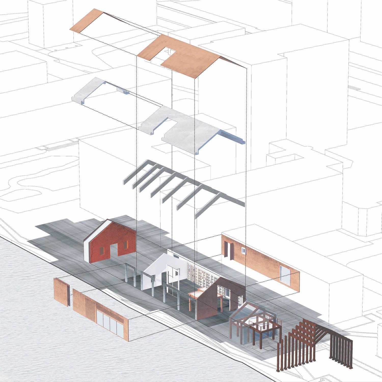 key section Lacime Architects}