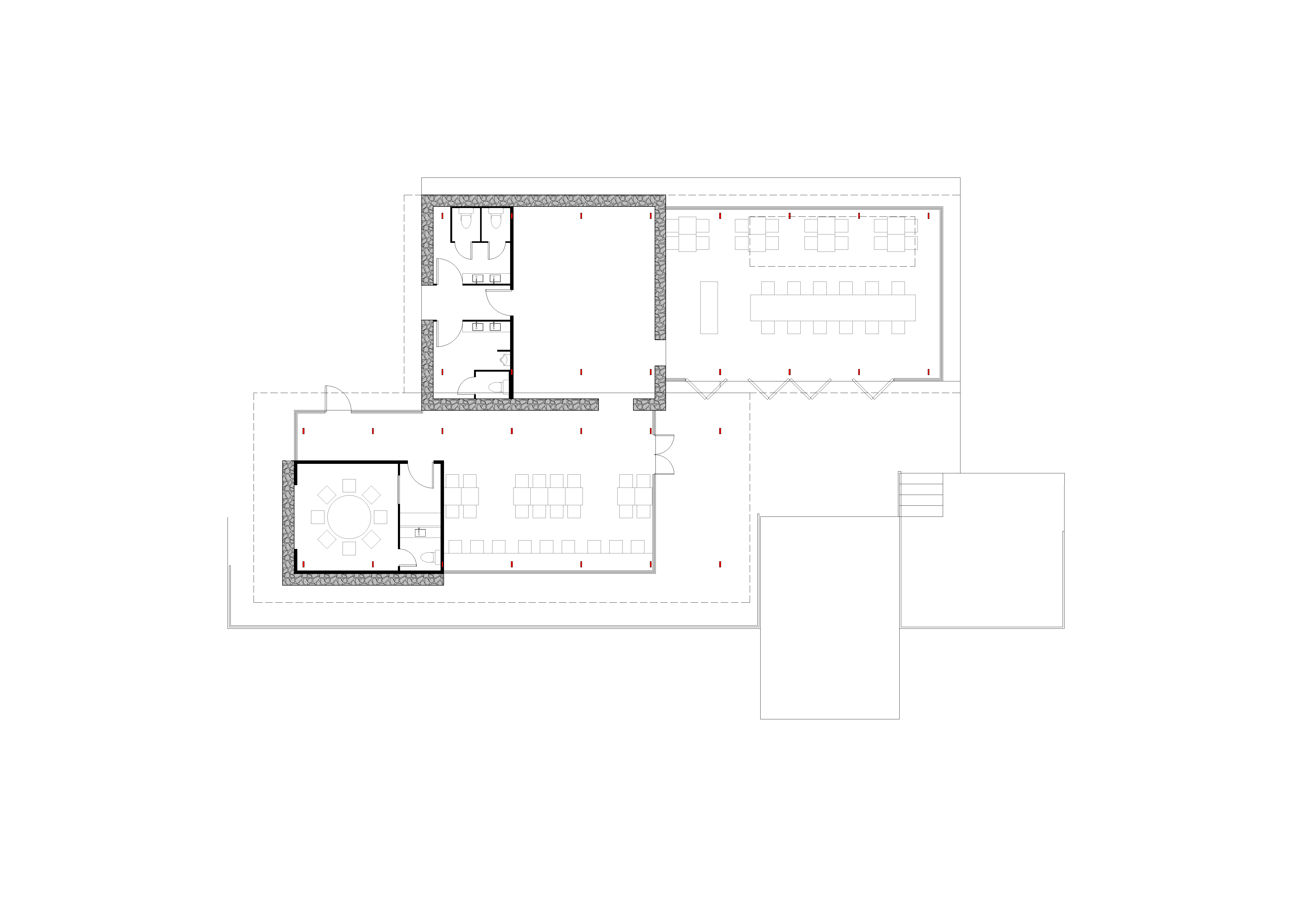 restaurant plan gad · line+ studio}