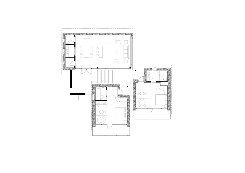 guestroom A plan gad · line+ studio}