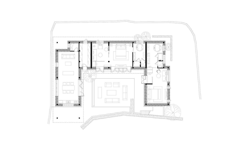 guestroom B plan gad · line+ studio}