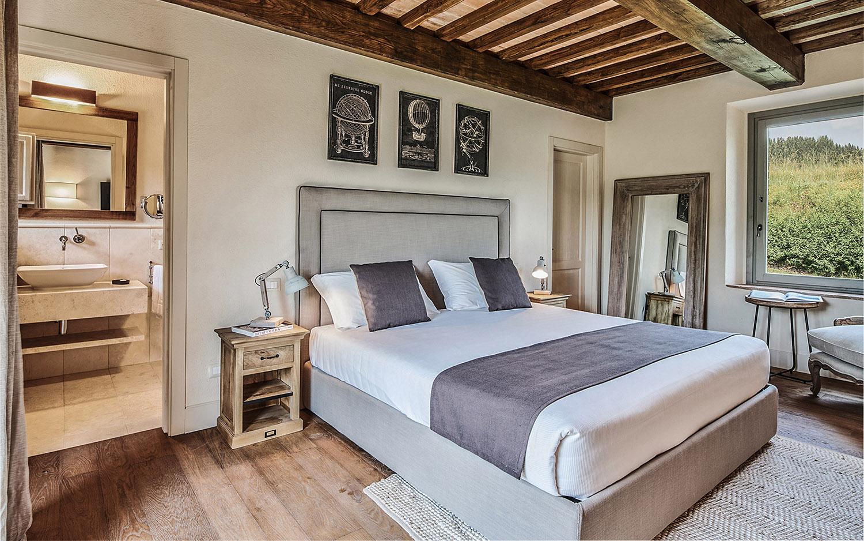 Vista camera main Appartamento C Annesso @Toscana Resort Castelfalfi