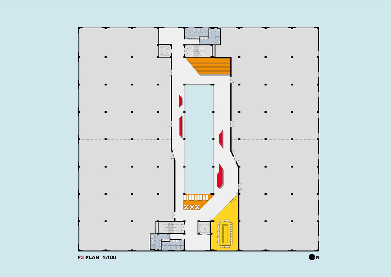 16_XPACE DIGITAL PARK_Main Building Wework Space_Level Three STUDIO QI}