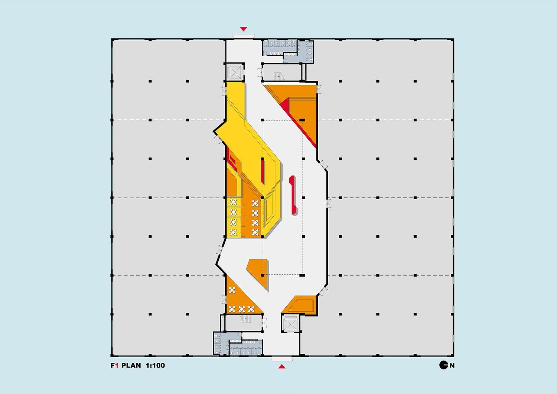 17_XPACE DIGITAL PARK_Main Building Wework Space_Level Four STUDIO QI}