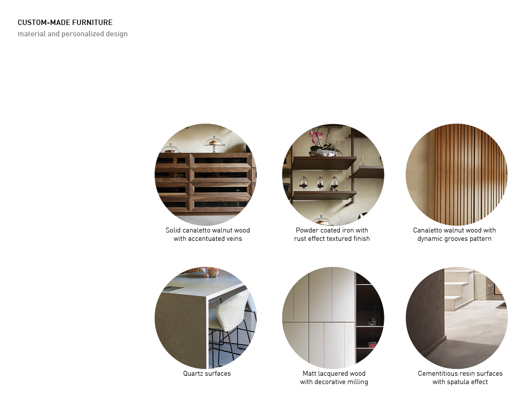 Custom-made furniture Alessandro Bucci Architetti}