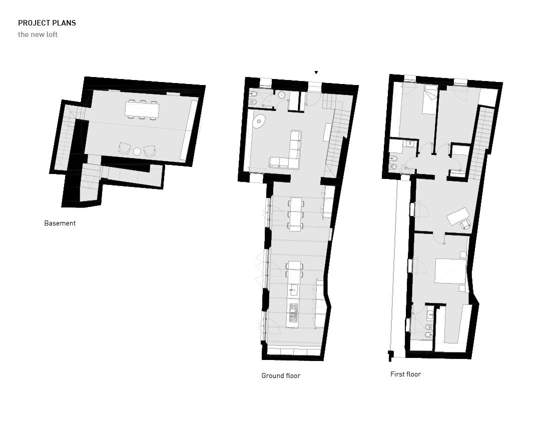 Project plans Alessandro Bucci Architetti}