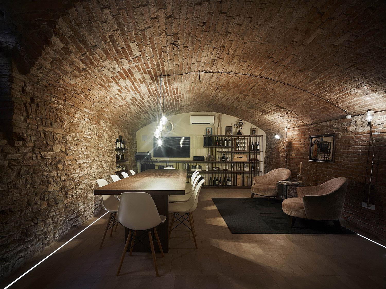 The recovered cellar Pietro Savorelli