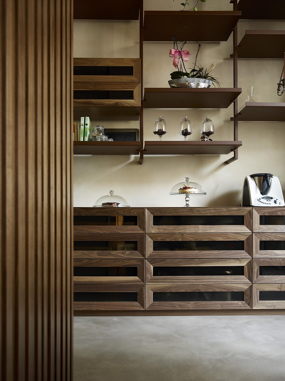 Kitchen furniture detail Pietro Savorelli