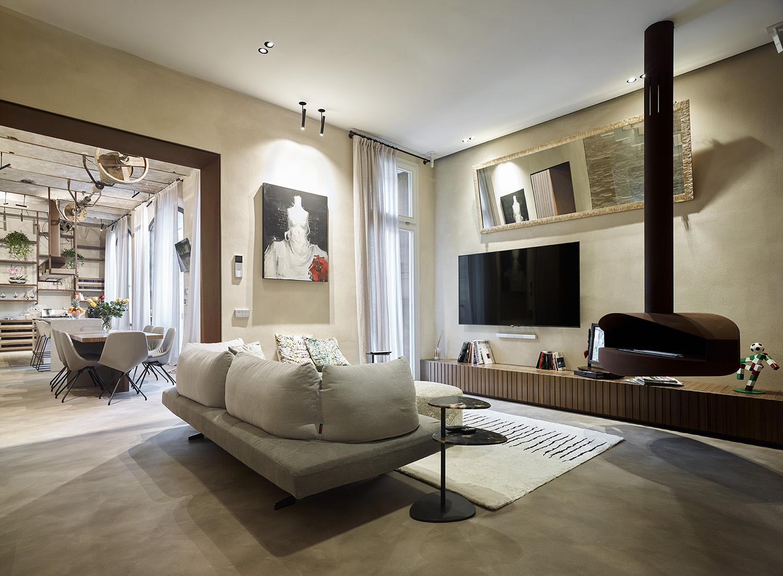 The living area Pietro Savorelli