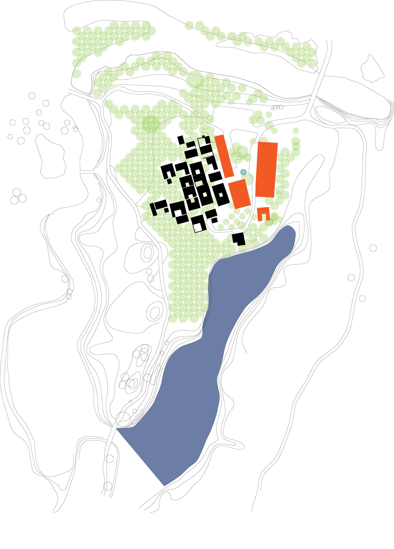 masterplan of the original village BIAD}