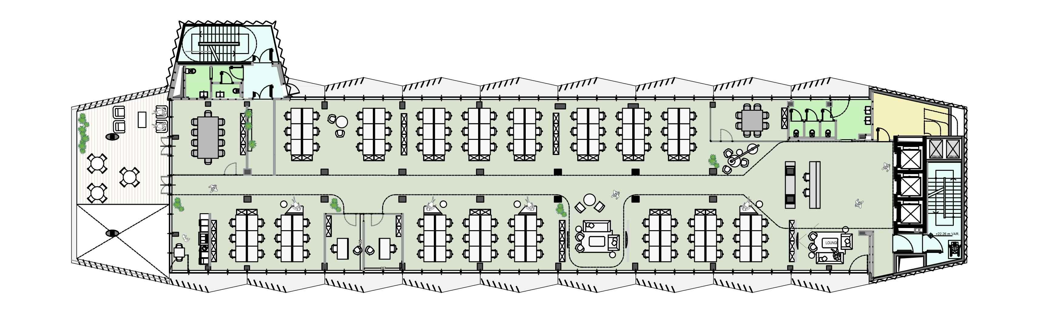 Bernina 7 -Piano-tipo-Torre Il Prisma}