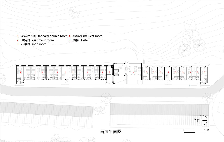 10-East guest room – 1st floor plan 3andwich Design}