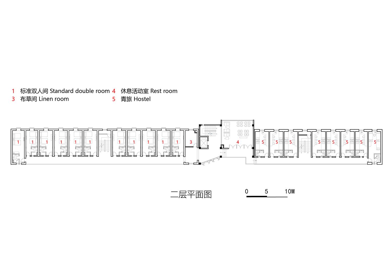 11-East guest room - 2nd floor plan 3andwich Design}