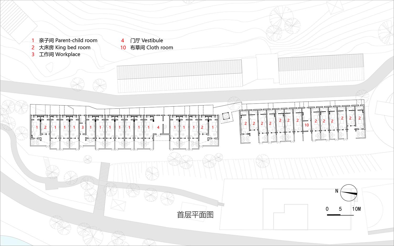 12-West guest room – 1st floor plan 3andwich Design}