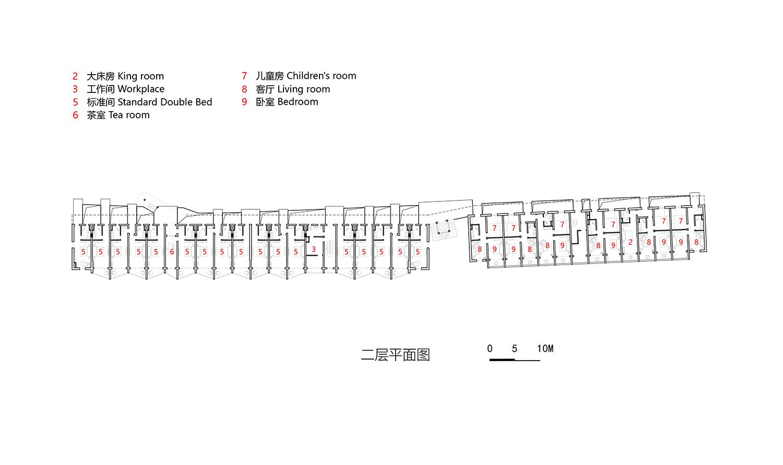 13-West guest room - 2nd floor plan 3andwich Design}